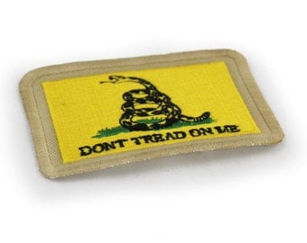Gadsden Don't Tread on Me Embroidered Flag Patch