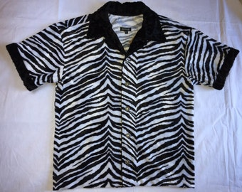 Zebra Animal Print Shirt