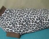 Leopard Fleece Large Dog ...