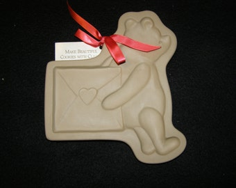 Brown Bag Cookie Art  Winnie the Pooh Cookie, Shortbread, Paper Crafting Mold