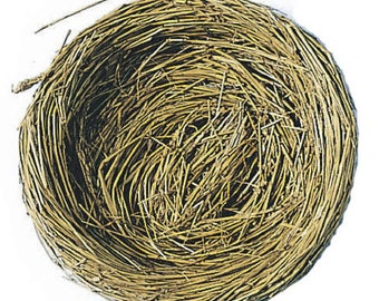 Bird Nest with Wire - 5 inches - 1 Nest (darb320248)