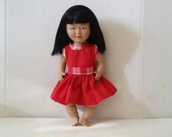 "Vintage Lakeshore   Doll 15"""