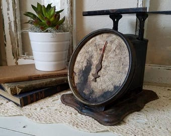 Rare Antique Postal Scale REV-O-NOC Parcel - Farmhouse Scale - 1906