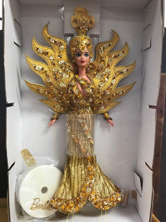 Bob Mackie Barbie Goddess Of the Sun MIB