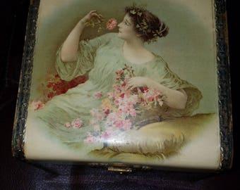 Vintage Vanity Collor/Glove Box