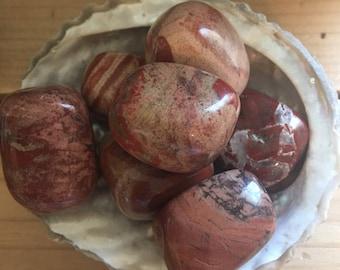 Brecciated Jasper Tumbled Stones, Healing Stones, Healing Crystal,Chakra Stones, Spiritual Stone, Small Stone