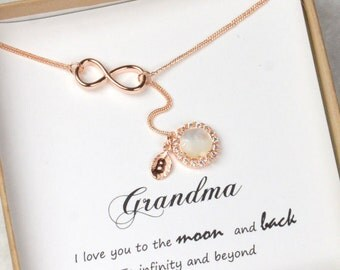 Personalize Mothers Day gift for grandma ,family tree necklace,Mothers Birthstone Necklace ,Grandma Necklace ,mothers day