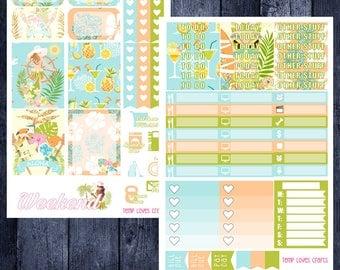 Get Away Mini Kit for Erin Condren Life Planner Vertical Layout
