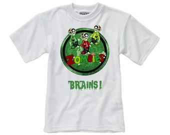 Designed T-Shirt - Zombie - Style 4