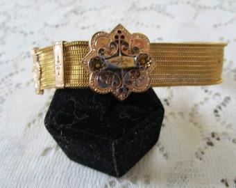 PRICE REDUCED: Vintage Mesh Slide Bracelet