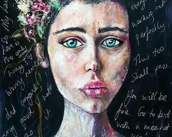 Trust Limited Edition A3 Fine Art Print on beautiful Ilford Gallerie Prestige Textured Cotton Artist Paper
