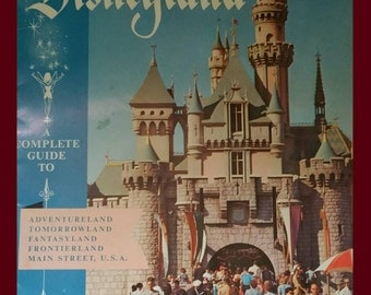 1957 complete guide to Disneyland.
