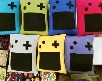 1 Gameboy Color Pillow (Choose from 7 Colors)