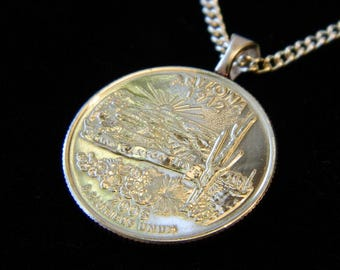 ARIZONA - Grand Canyon State - Value Necklace, Money Clip, Man Drop, or Key Ring.  For those who love Arizona or the Desert, maybe even YOU!