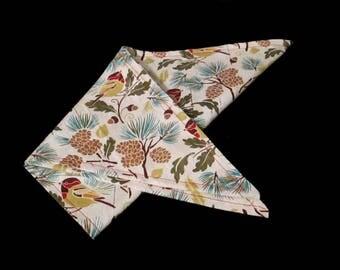 "XL Traditional Tie On Dog Bandana 22"", Summer Bandana, Pet Accessory, Dog Accessory, Pet Neckwear, Tie On Bandana, Handmade"