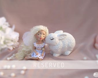 RESERVED *** OOAK Fairy Ella / OOAK doll / Art doll / Collector Figurine