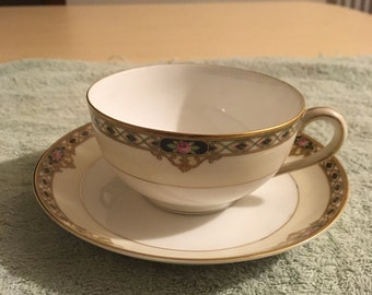Noritake Nippon Tea Cup and Saucer