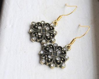 Vintage Sparkle Earrings