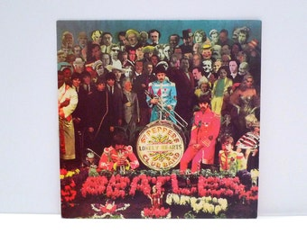 The Beatles Vinyl Record Album Vintage Outtakes Recordings from Sgt. Pepper's Lonely Hearts Club Band Magical Mystery Tour Studio Sessions