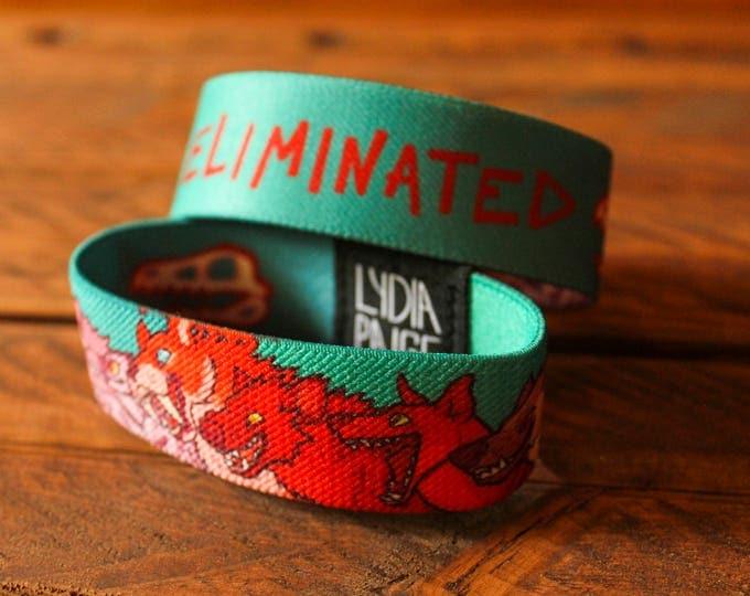CLEARANCE Eliminated Fabric Bracelet