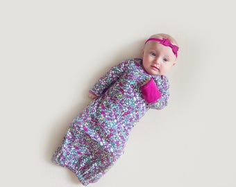 SALE* Stardust Baby Gown
