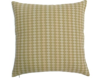 "Knoll Textiles - Mad Men - Mid Century Modern design accent throw Pillow with feather/down insert -  17"" X 17"""