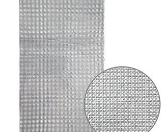 Silver Diamond Adhesive Sheet