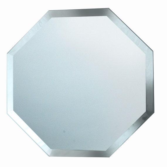 8 octagon beveled mirror for Octagon beveled mirror