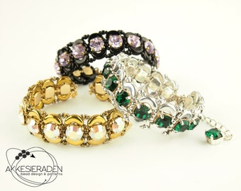 English pattern for de Marquise the Pompadour bracelet
