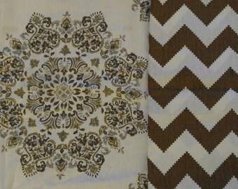 Designer dog bed cover, dog bed slipcover, neutral colors