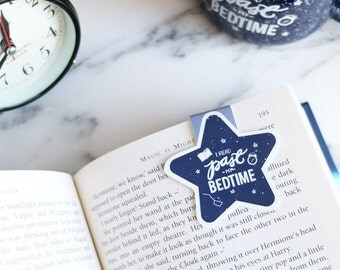 I read past my bedtime magnetic bookmark (jumbo)