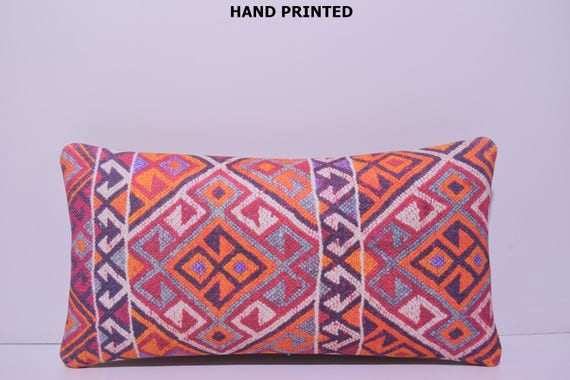 Large Decorative Body Pillow : 12x24 large floor pillow kilim pillow long body pillow throw