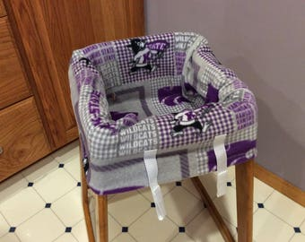 Restaurant Highchair Seat Cover, Kansas State University