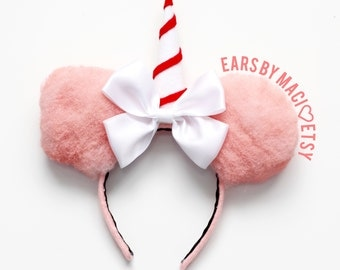 Cotton Candy Inspired Minnie Mouse Ears