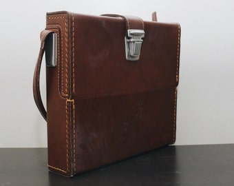 Classic Polaroid Brand Compartmental Carrying Case 116 SX-70 case for folding SX70 cameras and film
