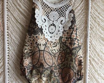 18m vintage batik sun suit