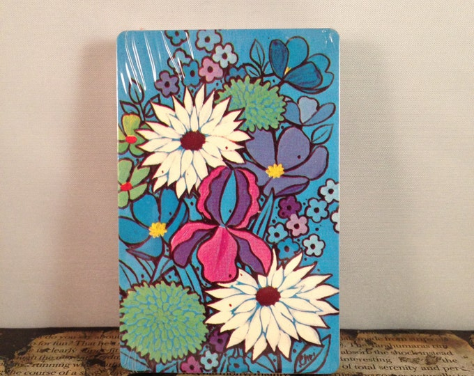 Playing Cards: Groovy Blooming Flowers