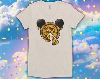 Mickey Pizza - Women's Tee