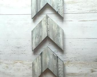 Arrows Wooden Wall Art Set of 3