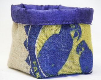 no 28 Coffee sack storage basket