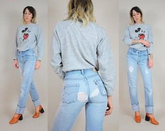 Levi's 501 Ripped Redline Jeans