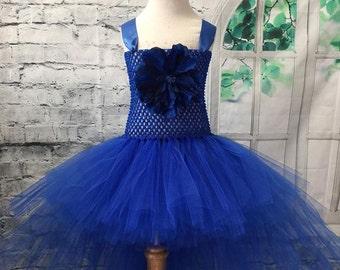 Hi lo tutu, hi lo dress, hi lo tutu dress, hi lo flower girl dress, flower girl dress, blue flower girl dress, blue pageant dress