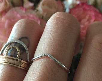 Tiny peak ring