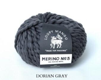 Loopy Mango - Merino No. 5 - Dorian Gray