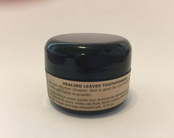 Healing Leaves Toothpowder