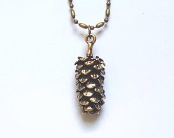 Pine Cone Necklace