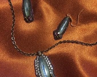 Necklace & Earring set OOAK