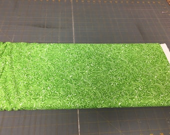 no. 498 Green breezeway Fabric by the yard