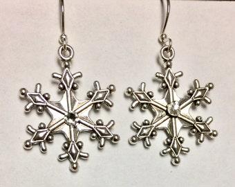 Swarovski Xirius Snowflake Earrings
