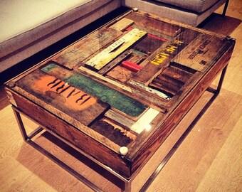 Coffee Table - Davis Crates signature